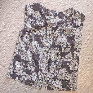 Lilla P Cotton & Silk Blouse